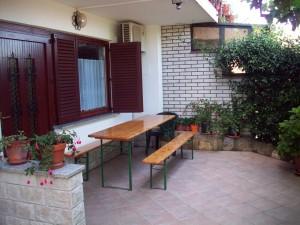 Gregorič - dvorišče
