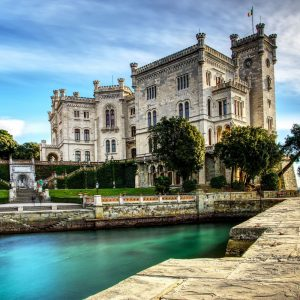 Trieste and Miramare castle