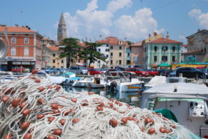 IZOLA - tour of the fishermen town